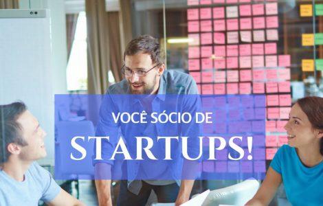 Você sócio de startups